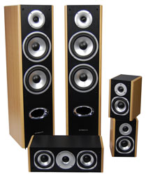 Streem HT-335 Surround Sound Speaker Set