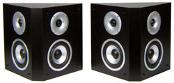 Streem SR-490 Rear Channel Bipole Surround Speakers